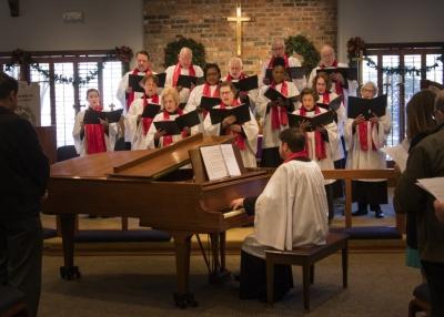 St  Mark's welcomes you! - Choir